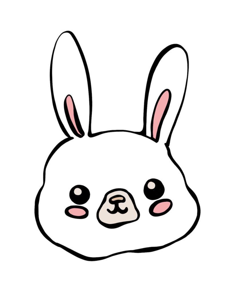 Happy bunny - Marisha studio ilustracija
