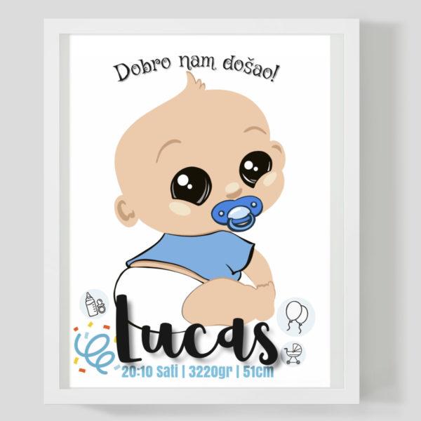 Baby boy - Marisha studio ilustracije