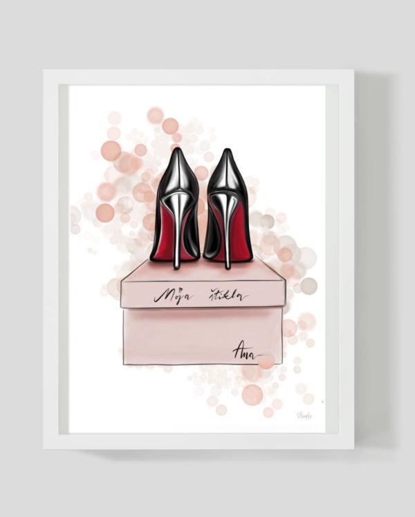 Moja štikla - Marisha studio ilustracija